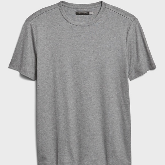 Banana Republic Pima Performance Stretch Tee Gray
